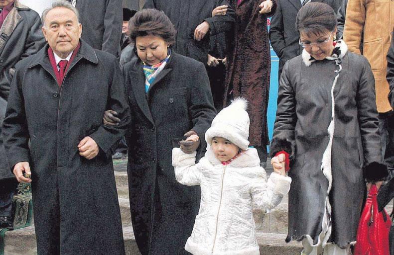 Новая родина дочери президента