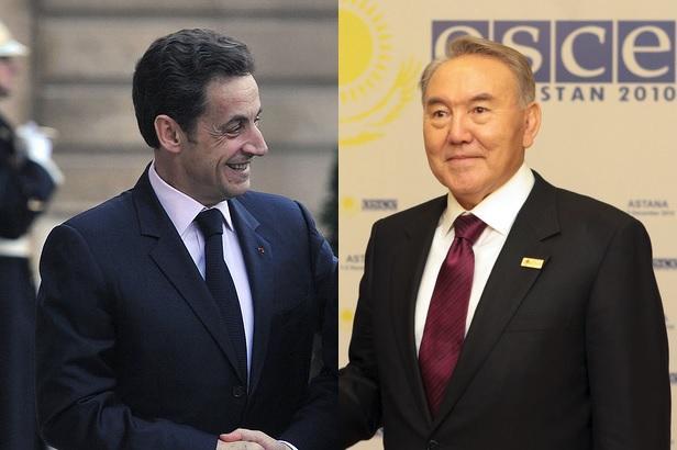 Казахстан: Николя Саркози, «Золотой орел» диктатора Назарбаева