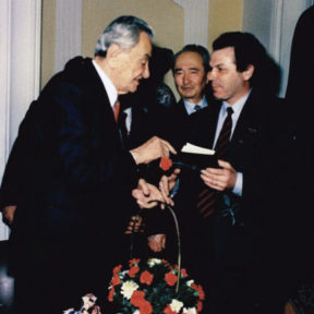 Д. Кунаеву - 80 лет 1992 год.