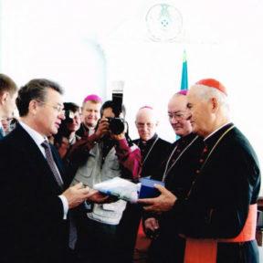 Делегация Ватикана, 2002 г.
