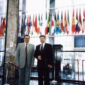 Государственный департамент США, июль 1996 г. C заместителем премьер-министра РК Штойк Гарри Гвидовичем