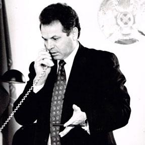 Ministre de l'Énergie et de l'Industrie du charbon de la République du Kazakhstan, Almaty - 1996