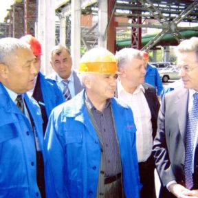 Министр по ЧС В Храпунов интересуется проблемами при выполнении работ с использванием желтого фосфора