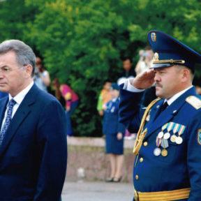 Министр по ЧС В Храпунов выступает с приветственным словом