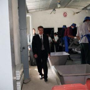 Открытие мусороперерабатывающего завода