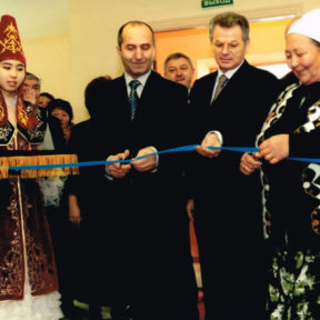 Открытие новой школы