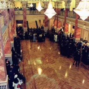Открытие после реконструкции Театра Оперы и балета имени Абая 2000 год