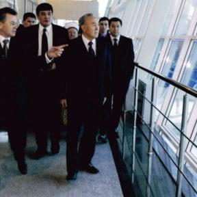 Открытие терминала аэропорта г. Алматы с участием главы государства