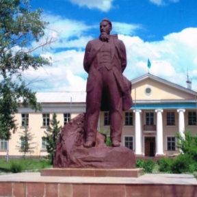 Памятник Курчатову, г. Курчатов