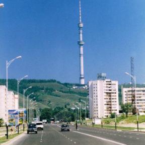 Первый проспект построенный в Алматы в годы независимости 1998 год