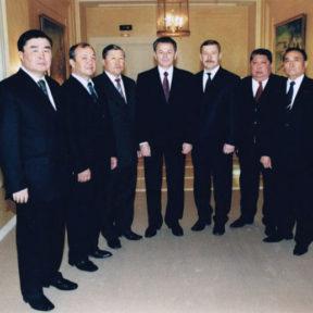 С акимами районов г. Алматы, 07.04.2004г.