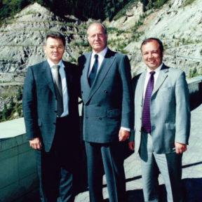 С Его Величеством Королем Испании Хуаном Карлосом