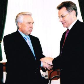 С мэром города Омск, Россия