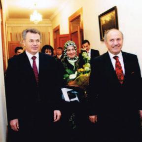 С мэром города Стамбул, Турция г-н Кадыр Топбаш