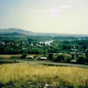 село Предгорное, место рождения Виктора. 1993 г.
