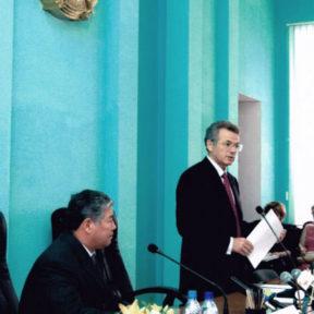 Совещание с участием министра сельского хозяйства РК А. Есимова