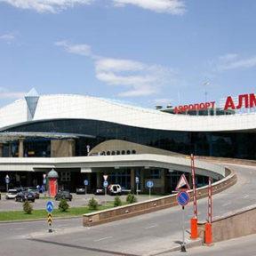 Terminal des Flughafens Almaty