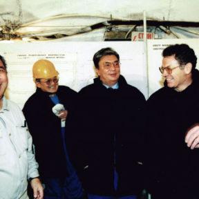 В Храпунов дает пояснение Премьер-Министру К Токаеву o необходимости строительства метро в г. Алматы, 2002 год