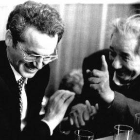 В Храпунов с К. Мухамеджановым 1999 год