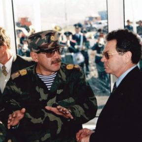 В Храпунов с председателем Таможенного комитета Г Касымовым