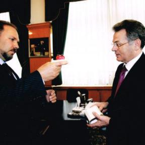 Вице-Председатель Правительства Москва А. Мень