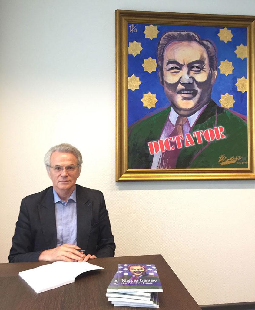 Книги политического диссидента, казахстанского политика Виктора Храпунова