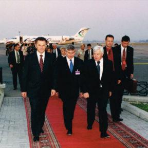 Встреча Президента Словении М Кучан