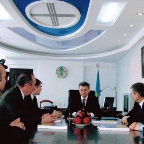 Встреча с бывшими коллегами из г. Алматы