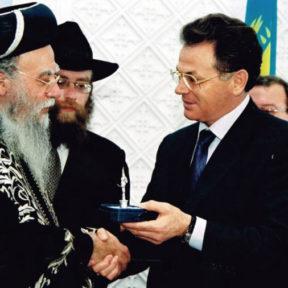 Встреча с главным раввином Израиля Элияху Бакши Дороном
