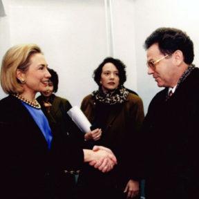 Встреча с Хилари Клинтон 1998 год