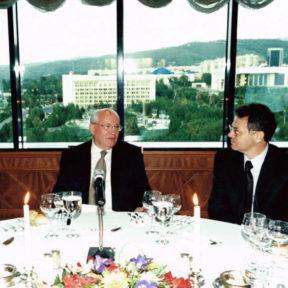 Встреча с Михаилом Горбачевым