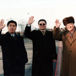 А. Байменов, В. Храпунов, З. Нуркадилов 1997