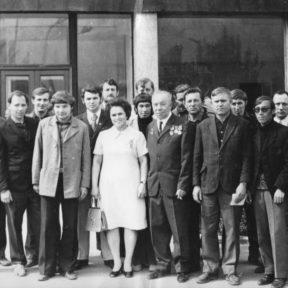 Алматинская ТЭЦ 9 мая 1973