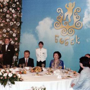 С. Назарбаева встречается с руководителями территориальных центров «Бобек», отель Анкара г. Алматы 2002