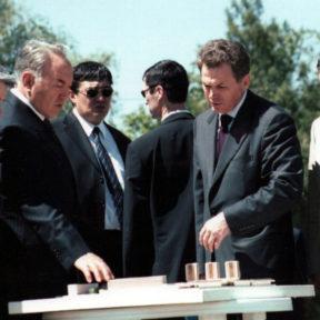 Фрагмент застройки г. Алматы, 2002