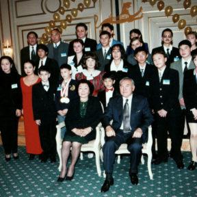 С одаренными детьми. г. Алматы 2001
