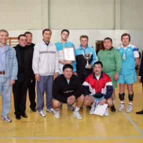 Команда Акима города Алматы чемпион города. 2003 г.