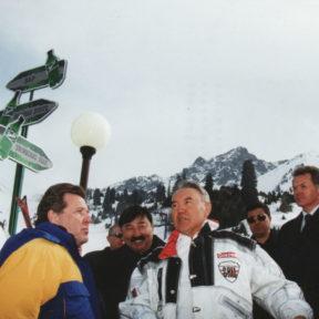 Л. Лещенко, Т. Досмухамбетов, Н. Назарбаев, В. Храпунов 2003