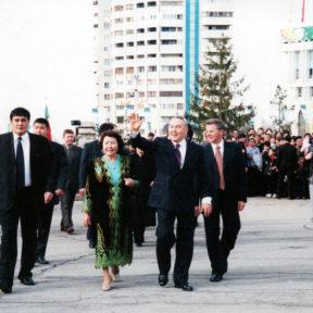 Празднование нового года «Наурыз» 2002