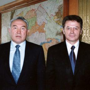 Офис акима (мэра) г. Алматы 2000