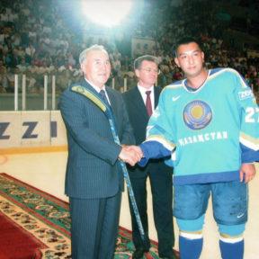 Приветствие Президента Казахстана 2005