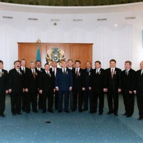 Резиденция Президента, Астана 2000