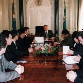 Совещание у Президента с руководством города Алматы 07.04.2004