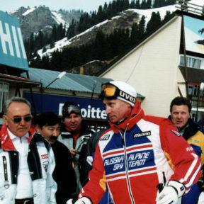 В. Храпунов, Н. Назарбаев, В. Путин, Л. Лещенко, В. Винокур 2003