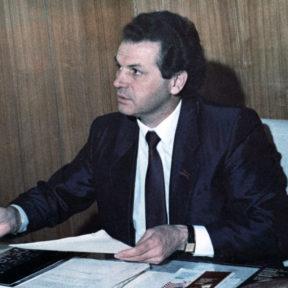 В. Храпунов, председатель Алматинского городского исполнительного комитета Алма-Ата 1991