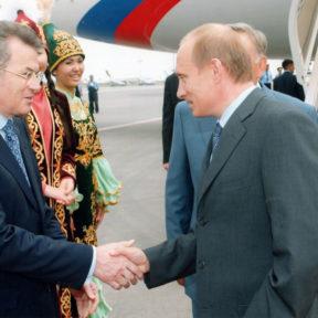 В. Храпунов, В. Путин Июнь 2004